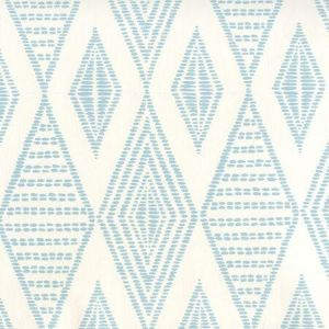 AP850-02 SAFARI EMBROIDERY Soft Windsor On Almost White Quadrille Wallpaper