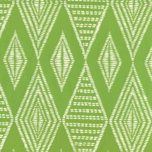 AP855-15 SAFARI Lime On Almost White Quadrille Wallpaper