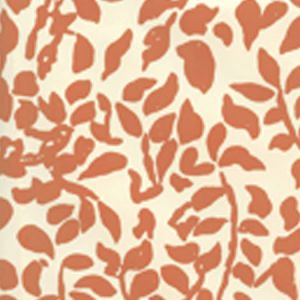 2030-03WP ARBRE DE MATISSE Shrimp On Off White Quadrille Wallpaper