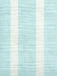 6166-01 BEACH COMBER Bali Blue on White Quadrille Fabric