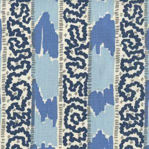 5060-13 BIJOU STRIPE Denim Blue Windsor Navy Quadrille Fabric