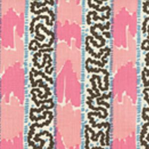 5060-11 BIJOU STRIPE Pinks Blue Quadrille Fabric