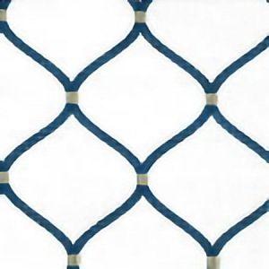 BIMINI Ivory Navy Norbar Fabric