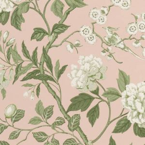 BW45000-11 EMPEROR'S GARDEN Blush GP & J Baker Wallpaper