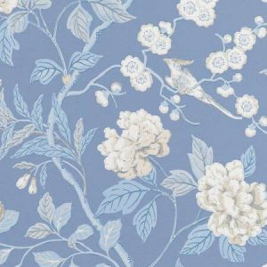 BW45000-9 EMPEROR'S GARDEN Blue GP & J Baker Wallpaper