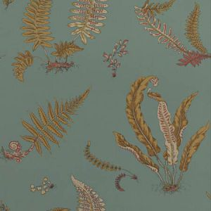 BW45044-12 Ferns Teal GP & J Baker Wallpaper