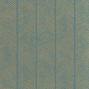 BW45085-4 HERRINGBONE Teal GP & J Baker Wallpaper