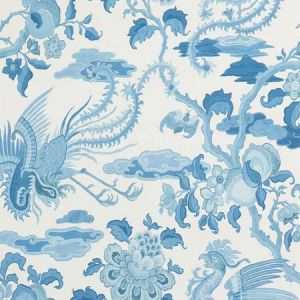 BW45087-2 CHIFU Blue GP & J Baker Wallpaper