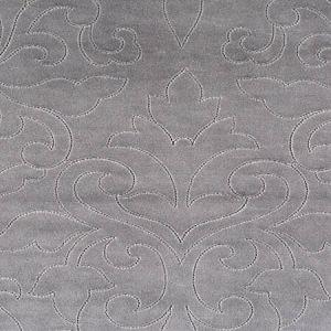 CH 0205 0662 CLASSIC VELVET Steel Scalamandre Fabric