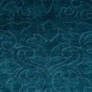 CH 0229 0662 CLASSIC VELVET Teal Scalamandre Fabric