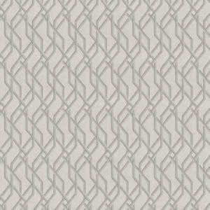 CHERT LATTICE Glimmering Ecru Fabricut Fabric