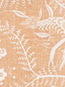 6780-04 CIREBON REVERSE Apricot on White Quadrille Fabric