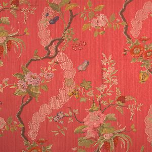 CL 000626728 APRILE Red Scalamandre Fabric