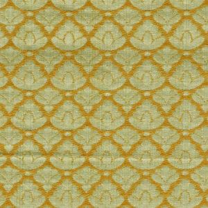CL 0009 26714A RONDO FR Jade Gold Scalamandre Fabric