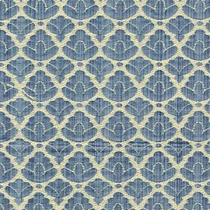 CL 0017 26714A RONDO FR Blue Linen Scalamandre Fabric