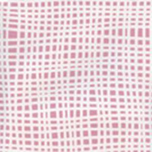 AP403-2 CRISS CROSS Pink On White Quadrille Wallpaper