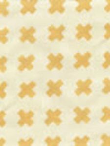 4130-08 CROSS CHECK Inca Gold on Tint Quadrille Fabric