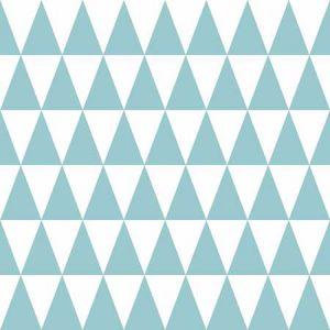 DD128844 Verdon Geometric Aquamarine Brewster Wallpaper