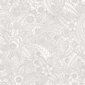 DD148613 Schunard Floral Off-White Brewster Wallpaper