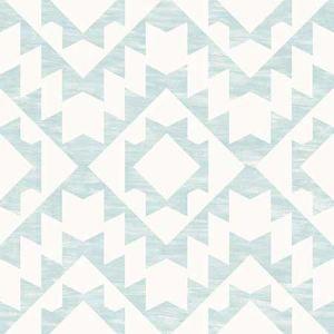 DD148674 Fantine Geometric Mint Brewster Wallpaper
