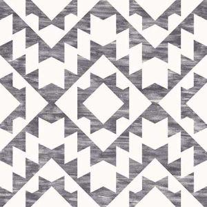 DD148677 Fantine Geometric Black Brewster Wallpaper