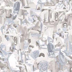 DD347421 Wunderkammer Café Neutral Brewster Wallpaper