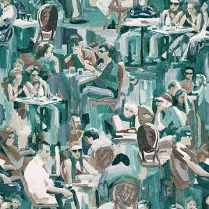 DD347422 Wunderkammer Café Jade Brewster Wallpaper