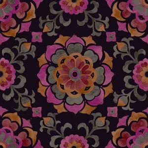 DD347474 Tracy Medallion Multicolor Brewster Wallpaper