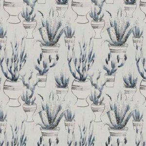 DESERT FLORA Indigo Vervain Fabric
