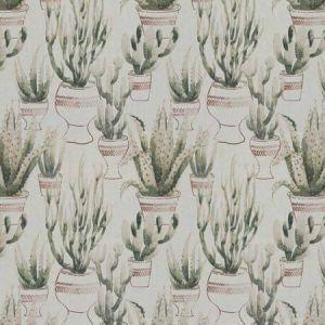 DESERT FLORA Saguaro Clay Vervain Fabric