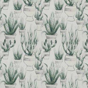 DESERT FLORA Viridian Vervain Fabric