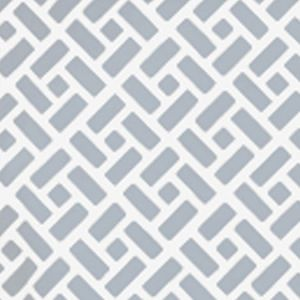 6690WP-04W EDO Grey On White Quadrille Wallpaper