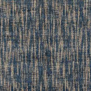EL 0001NECK GALLIUM Indigo Old World Weavers Fabric