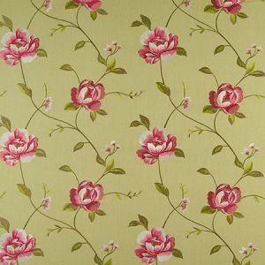 F0352/06 ALDERLEY Parsley Clarke & Clarke Fabric