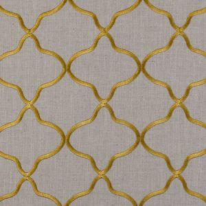 F0375/03 LEYLA Citrus Clarke & Clarke Fabric
