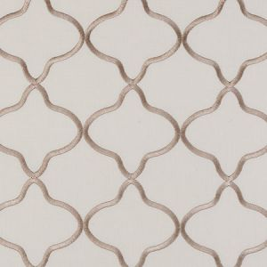F0375/04 LEYLA Taupe Clarke & Clarke Fabric
