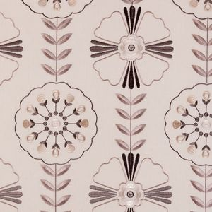 F0376/01 MANDANA Natural Clarke & Clarke Fabric