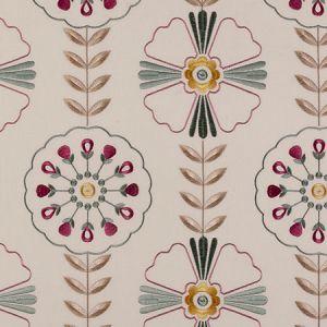 F0376/04 MANDANA Sage Clarke & Clarke Fabric