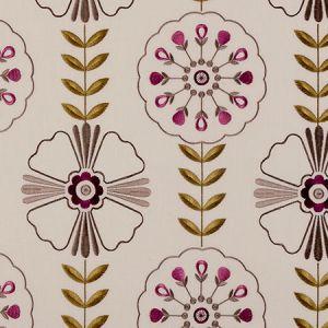 F0376/06 MANDANA Berry Clarke & Clarke Fabric