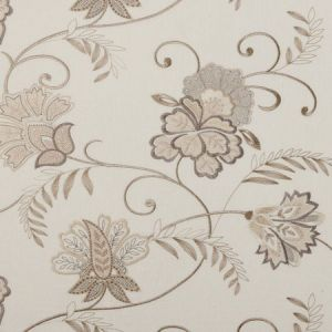 F0379/01 BUKHARA Natural Clarke & Clarke Fabric