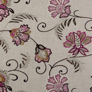 F0379/06 BUKHARA Berry Clarke & Clarke Fabric