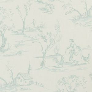 F0425/02 HELENA Duckegg Clarke & Clarke Fabric