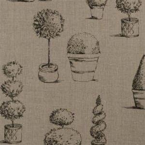 F0430/03 TOPIARY Linen Clarke & Clarke Fabric