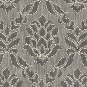 F0584/01 FAIRMONT Charcoal Clarke & Clarke Fabric