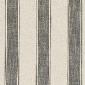 F0585/01 KINBURN Charcoal Clarke & Clarke Fabric