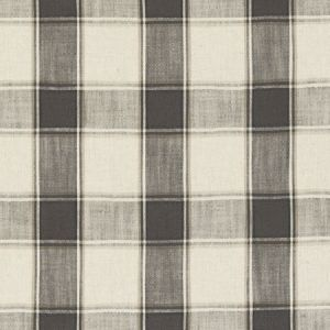 F0586/01 MONTROSE Charcoal Clarke & Clarke Fabric