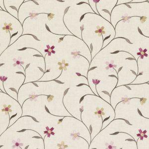 F0599/05 MELLOR Raspberry Clarke & Clarke Fabric