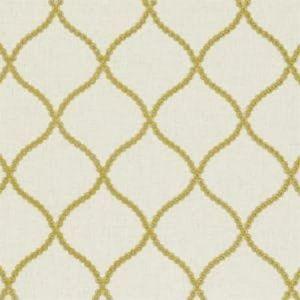 F0601/01 SAWLEY Citrus Clarke & Clarke Fabric