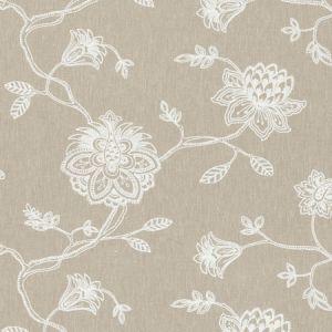 F0602/05 WHITEWELL Natural Clarke & Clarke Fabric
