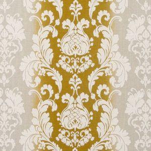 F0705/02 CAMELIA Chartreuse Clarke & Clarke Fabric